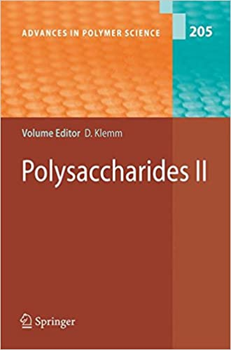 Polysaccharides II Advances In Polymer Science V 2 Dieter Klemm 9783540371021 Amazon Books