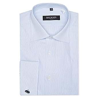 Balmain Shirts for Men - Blue & White
