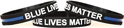 Blue Lives Matter Wristband