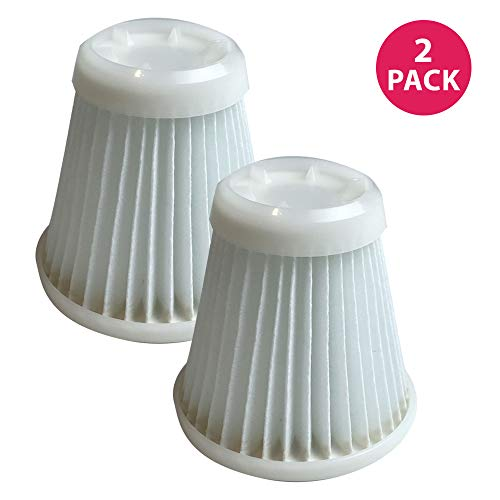 Crucial Vacuum Replacement Air Filters Compatible with Black and Decker Pivot Vac Filter Part - Washable, Reusable with Vacuums Parts PVF100, 514723900 - Fits Model PHV1800, PHV1800CB - Bulk (2 Pack) ()