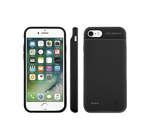 KeySmart Lightning Case | Phone Charging Case and Powerbank (iPhone 7)