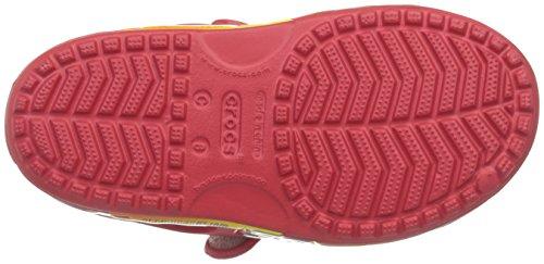 Crocs Crocband II Cars Sandal (Toddler/Little Kid), Red, 6 M US Toddler by Crocs (Image #3)