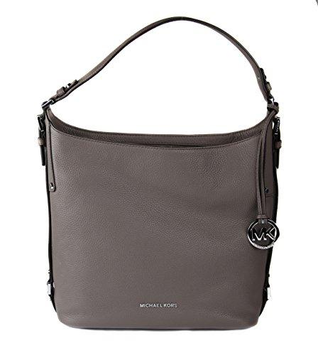 MICHAEL Michael Kors Women's Bedford Belted Shoulder Cinder Handbag (Tote Belted Pocket Handbag)