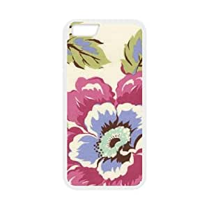 Wild Poppy Linen iPhone 6 4.7 Inch Cell Phone Case White phone component AU_473534