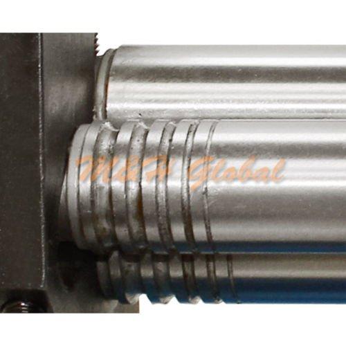 "320mm 12.6/"" Slip Roll Sheet Metal Fabrication Brass Copper Roller 1 mm Thickness"