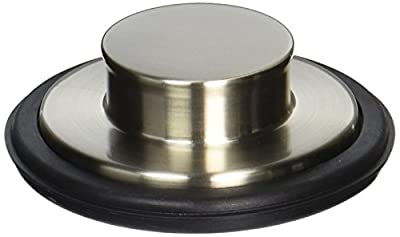 LDR 551 1470SS Garbage Disposal Stopper without Flange, Stainless Steel
