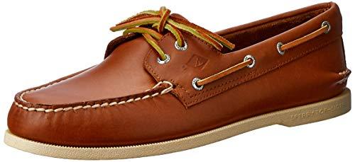 SPERRY A/O 2-Eye Boat Shoe Tan - Tan - 9
