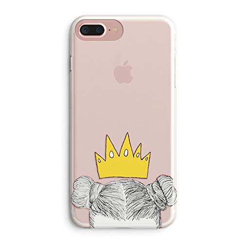 more photos 56240 fdf2c iPhone 7 Plus Case for Her,iPhone 8 Plus Case,Cute Couples Things for Girls  Boys,You Are My King Queen Princess & Prince Couple Matching Funny Soft ...