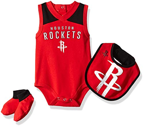 dcd388ea9ce Outerstuff NBA NBA Newborn   Infant Houston Rockets Overtime Bodysuit