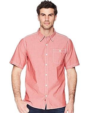 Mountain Chambray Short Sleeve Shirt