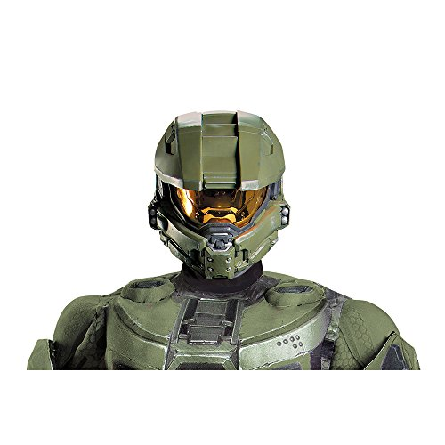 HALO Master Chief Adult Full Helmet Costume Accessory for $<!--$6.99-->