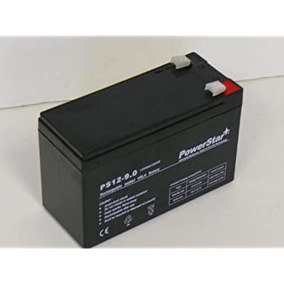 PowerStar-12V 8Ah Razor Ground Force Drifter Go Kart Battery - Now 9AH Holds Longer Charge : Automotive Batteries : Sports & Outdoors