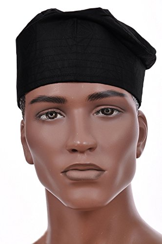 African Hat (Dupsie's Black African Cotton Kufi Hat)