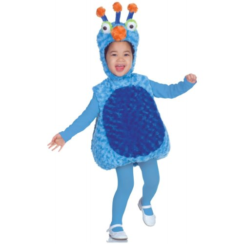 Underwraps Costumes Baby's 3 Antennas Belly-Babies, Light Blue/Blue, -
