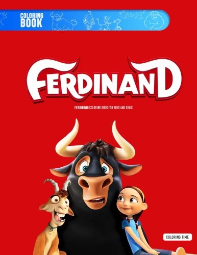 Ferdinand Coloring Book (The Story Of Ferdinand By Munro Leaf)