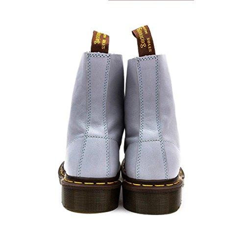 Dr. Martens Pascal Virginia, Zapatillas Altas para Mujer Azul (Blue Moon)