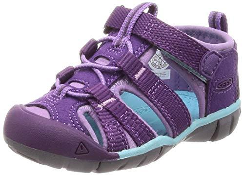 KEEN Baby Seacamp II CNX Water Shoe, Majesty/Tibetan Stone, 4 M US Toddler