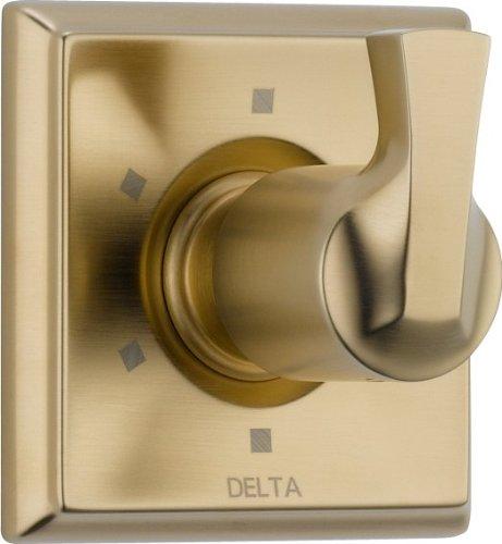 Delta Faucet T11951-CZ Dryden 6 Setting Diverter Trim, Champagne Bronze