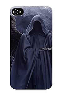 EXIsp0KgYJN Tough Iphone 6 4.7 Case Cover/ Case For Iphone 6 4.7(angel Of Death) / New Year's Day's Gift