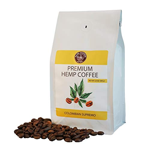 Sapa Hemp Coffee Colombian Supremo 12 oz