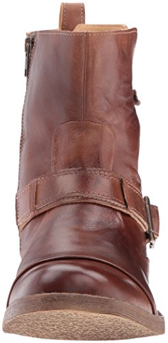 Letto | Stu Mens Jerry Engineer Boot Tan Rustico