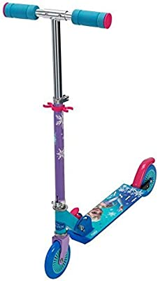 Amazon.com: Disney Frozen Elsa Inline Scooter con estampado ...