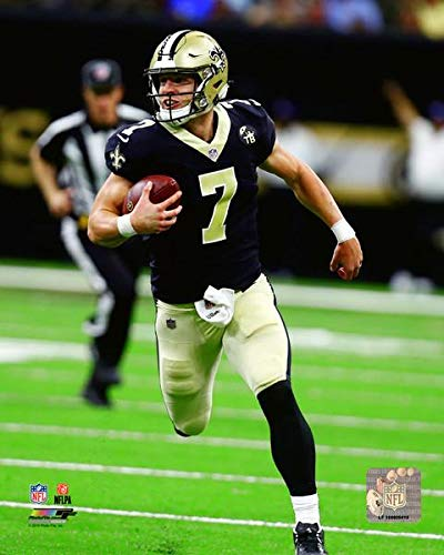 Taysom Hill New Orleans Saints 2018 Action Photo (Size: 8