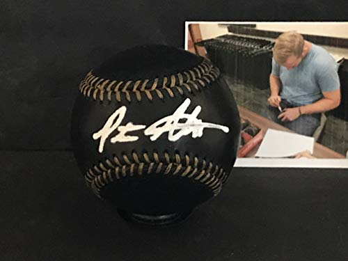 Pete Alonso New York Mets Autographed Signed Official MLB BLACK Baseball Peter White