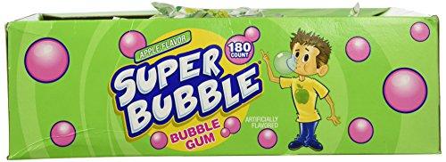Super Bubble Gum (Super Bubble Apple 180-Pieces)
