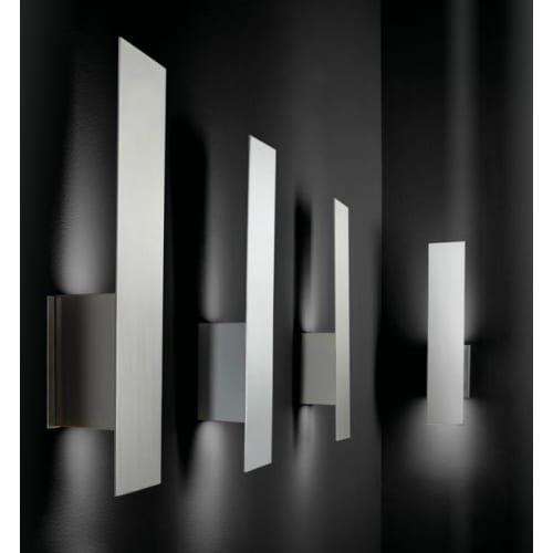 Oxygen Lighting 3-504 Reflex 2 Light 20'' Tall ADA Compliant Wall Sconce with Gla, Aged Brass by Oxygen Lighting