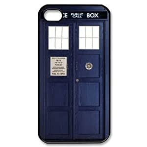 Custom Your Own Doctor Who Tardis iPhone 4 4S Case , personalised Doctor Who Tardis Iphone 4 Cover