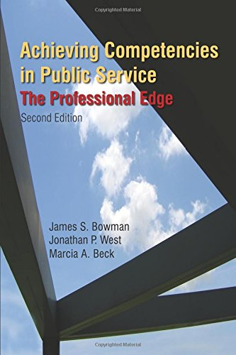Achieving Competencies in Public Service: The Professional Edge