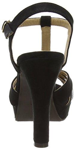 Negro Combinada Xti Noir Sandalia SRA Femme Negro Sandales Plateforme Antelina 4qBOTBnWI
