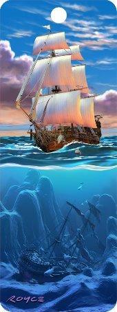 Artgame - Sail Away - 3D Bookmark]()