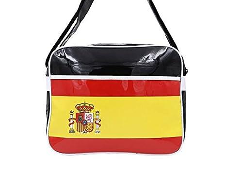 af696d5332ac Amazon.com: Spain Flag - Postman School Carry Bag (PB53): Garden ...