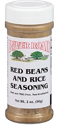 Cajun Small Red Beans - River Road Red Beans and Rice Seasoning, 2 Ounce Shaker