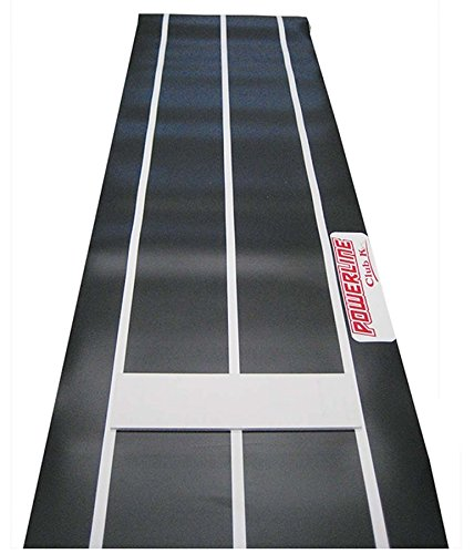 Buckeye Nation Sales Club K Powerline Fastpitch Softball Professional Indoor Outdoor Pitching Rubber MAT 3' x 8' ~ Made in The USA (Indoor Softball)