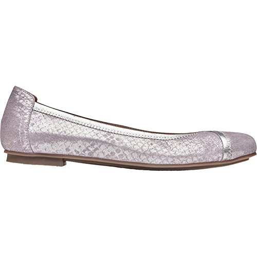 Vionic Womens Spark Caroll Ballet Flat, Pewter, Size 6