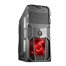 Cougar MX200 Gaming PC Case - Black