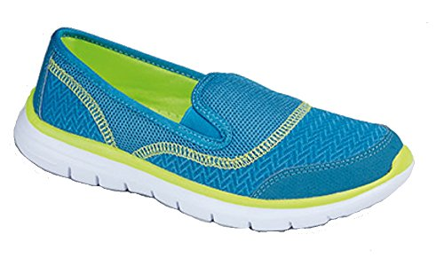 Schuh Walking Damen Superlight Blau Freizeit vqf7gtX