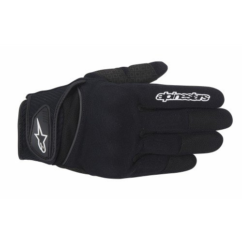 Alpinestars Spartan Men's Street Motorcycle Gloves - Black / X-Large