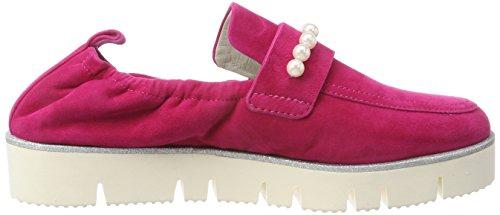 Kennel und Schmenger Women's Malu XXL Platform Ballet Flats Pink (Azalea/Pearl Sohle Weiß-silver 389) 9YwCm