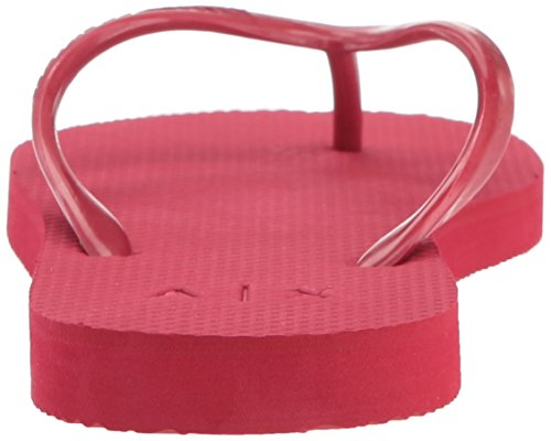 A | X Armani Exchange Mujeres Classic Ax Flip-flop Royal Red