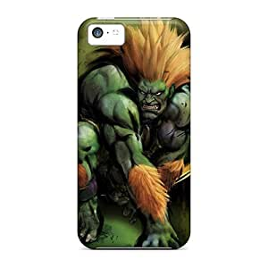 For Iphone 5c Fashion Design Blanka Case-KeL5554ZTBH
