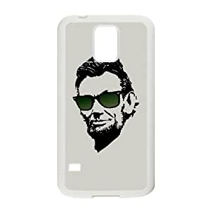 Samsung Galaxy S5 Cell Phone Case White Cool Abe Gixz