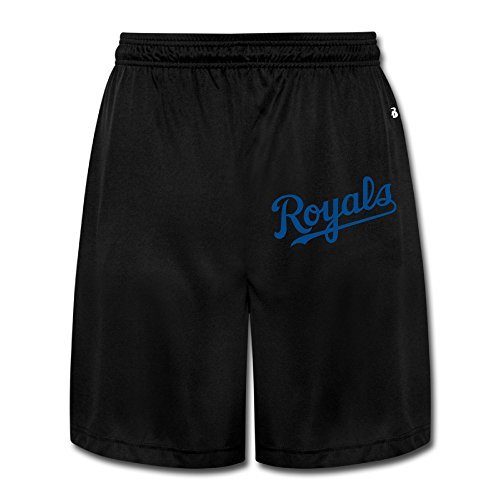 (Hioyio Men 's 1024px-Kansas City Royals.svg Shorts)