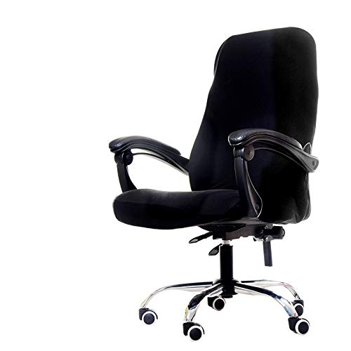 1Pcs Rotating Office Computer Chair Cover Spandex Covers for Chairs Lycra Chair Stretch Case to Fit Office Chairs for 20 Colors 8 As Description ()
