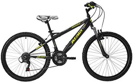 Atala 2019 - Bicicleta de montaña para niño Invader de 24 pulgadas, 18 V, color negro y amarillo: Amazon.es: Deportes y aire libre