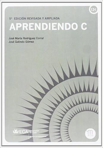 José Galindo Gómez - Aprendiendo C