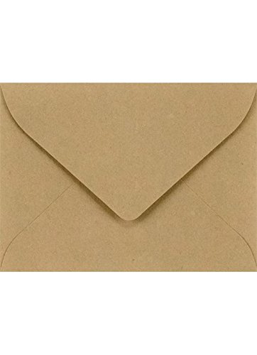 #17 Mini Gift Card Envelopes (2 11/16 x 3 11/16) - Grocery Bag (1000 Qty.) | Perfect for the Holidays, Holding Place Cards, Gift Cards, Notes, and Flower Arrangement Cards |LEVC-GB-1M by Envelopes.com